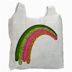 Rainbow Cartoon Illustration Recycle Bag (one Side)