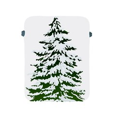 Winter Snowy Pine Tree Apple Ipad 2/3/4 Protective Soft Cases