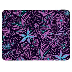 Stamping Pattern Leaves Samsung Galaxy Tab 7  P1000 Flip Case