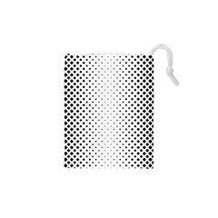 Square Rounded Background Drawstring Pouch (xs)