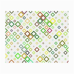 Square Colorful Geometric Style Small Glasses Cloth (2 Side)