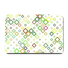 Square Colorful Geometric Style Small Doormat