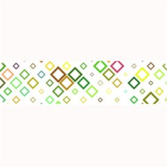 Square Colorful Geometric Style Large Bar Mats