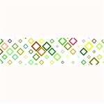 Square Colorful Geometric Style Large Bar Mats 34 x9.03  Bar Mat