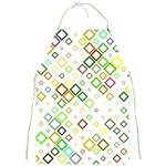 Square Colorful Geometric Style Full Print Aprons Front