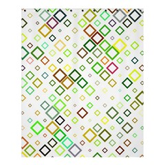 Square Colorful Geometric Style Shower Curtain 60  X 72  (medium)