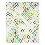 Square Colorful Geometric Style Shower Curtain 60  x 72  (Medium)  54.25 x65.71  Curtain