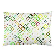 Square Colorful Geometric Style Pillow Case (two Sides)