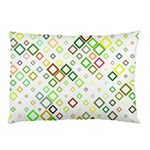 Square Colorful Geometric Style Pillow Case (Two Sides) Back