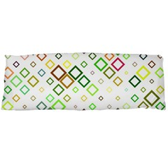 Square Colorful Geometric Style Body Pillow Case Dakimakura (two Sides)