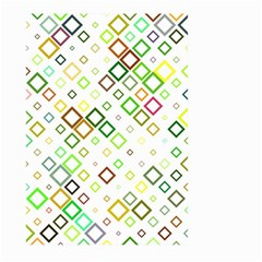 Square Colorful Geometric Style Large Garden Flag (two Sides)