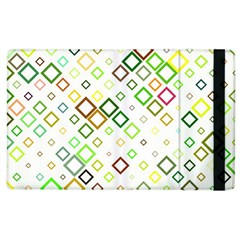 Square Colorful Geometric Style Apple Ipad 2 Flip Case by Alisyart