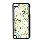 Square Colorful Geometric Style Apple iPod Touch 5 Case (Black) Front