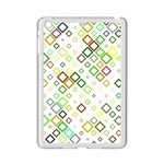 Square Colorful Geometric Style iPad Mini 2 Enamel Coated Cases Front