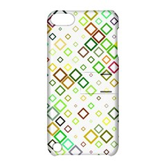 Square Colorful Geometric Style Apple Ipod Touch 5 Hardshell Case With Stand