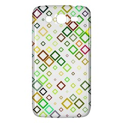Square Colorful Geometric Style Samsung Galaxy Mega 5 8 I9152 Hardshell Case