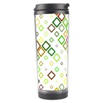 Square Colorful Geometric Style Travel Tumbler Center