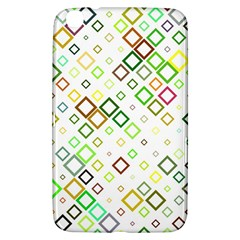 Square Colorful Geometric Style Samsung Galaxy Tab 3 (8 ) T3100 Hardshell Case