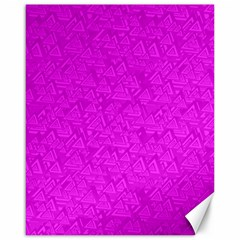 Triangle Pattern Seamless Color Canvas 16  X 20