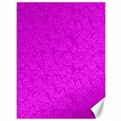 Triangle Pattern Seamless Color Canvas 36  X 48