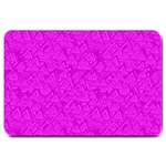 Triangle Pattern Seamless Color Large Doormat  30 x20  Door Mat