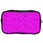 Triangle Pattern Seamless Color Toiletries Bag (Two Sides) Front