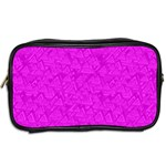 Triangle Pattern Seamless Color Toiletries Bag (Two Sides) Back