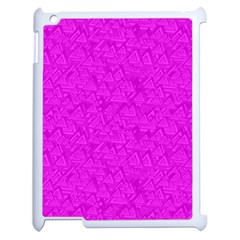 Triangle Pattern Seamless Color Apple Ipad 2 Case (white)