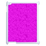 Triangle Pattern Seamless Color Apple iPad 2 Case (White) Front