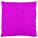 Triangle Pattern Seamless Color Large Cushion Case (One Side) Front