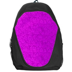 Triangle Pattern Seamless Color Backpack Bag