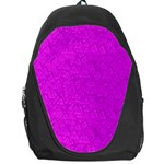 Triangle Pattern Seamless Color Backpack Bag Front