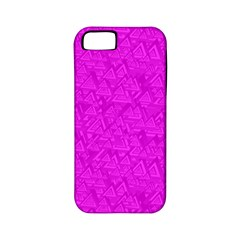 Triangle Pattern Seamless Color Apple Iphone 5 Classic Hardshell Case (pc+silicone)