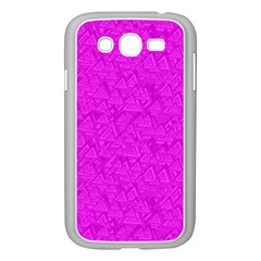 Triangle Pattern Seamless Color Samsung Galaxy Grand Duos I9082 Case (white)