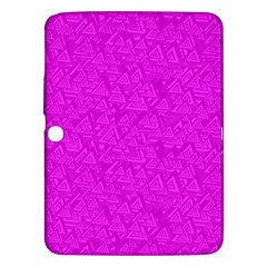 Triangle Pattern Seamless Color Samsung Galaxy Tab 3 (10 1 ) P5200 Hardshell Case