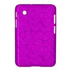 Triangle Pattern Seamless Color Samsung Galaxy Tab 2 (7 ) P3100 Hardshell Case