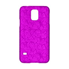 Triangle Pattern Seamless Color Samsung Galaxy S5 Hardshell Case