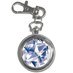 Triangle Blue Key Chain Watches
