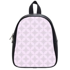 Star Pattern Texture Background School Bag (small)