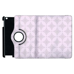 Star Pattern Texture Background Apple Ipad 2 Flip 360 Case by Alisyart