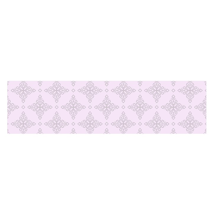 Star Pattern Texture Background Satin Scarf (Oblong)