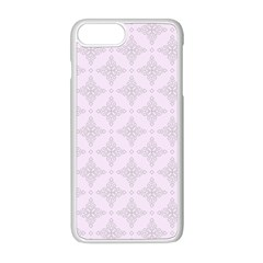 Star Pattern Texture Background Apple Iphone 8 Plus Seamless Case (white) by Alisyart