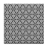 Ornamental Checkerboard Tile Coasters Front