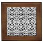 Ornamental Checkerboard Framed Tiles Front