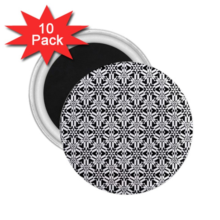 Ornamental Checkerboard 2.25  Magnets (10 pack)