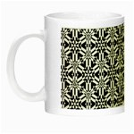 Ornamental Checkerboard Night Luminous Mugs Left