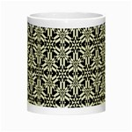 Ornamental Checkerboard Night Luminous Mugs Center