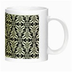 Ornamental Checkerboard Night Luminous Mugs Right