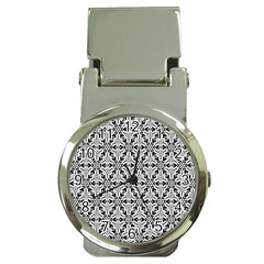 Ornamental Checkerboard Money Clip Watches by Mariart