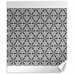 Ornamental Checkerboard Canvas 8  X 10  by Mariart